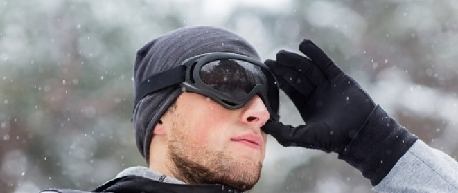 Winter Sports Eye Protection